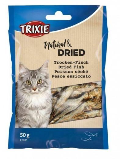 Pescado Deshidratado trixie para gatos