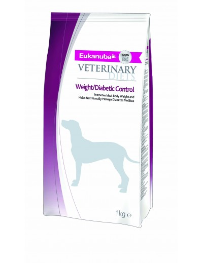EUKANUBA CANINE DIETS ADULT WEIGHT DIABETIC CONTROL