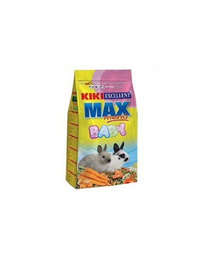Kiki max menu baby rabbits para conejos