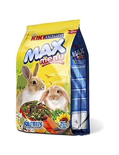 kiki max menu rabbits  para conejos