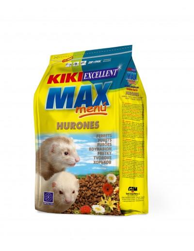 kiki Max menu para hurones