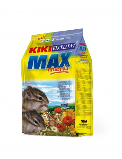 kiki max menu para ardillas