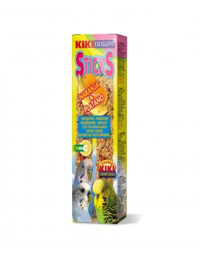 kiki snacks sticks naranja platano para periquitos