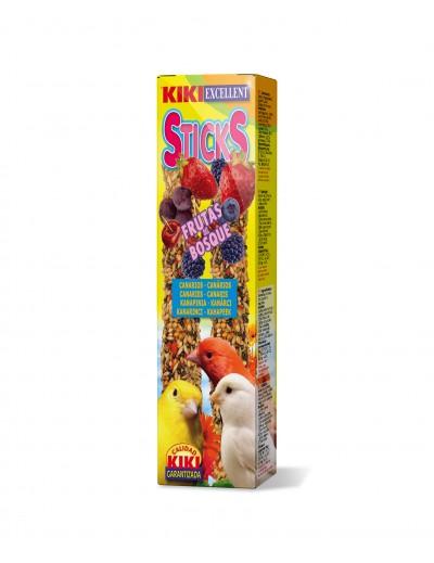 kiki snacks sticks frutas del bosque para canarios