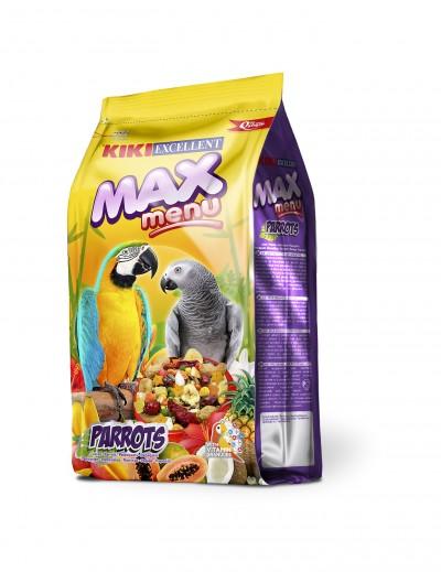 kiki max menu parrots alimento para loros