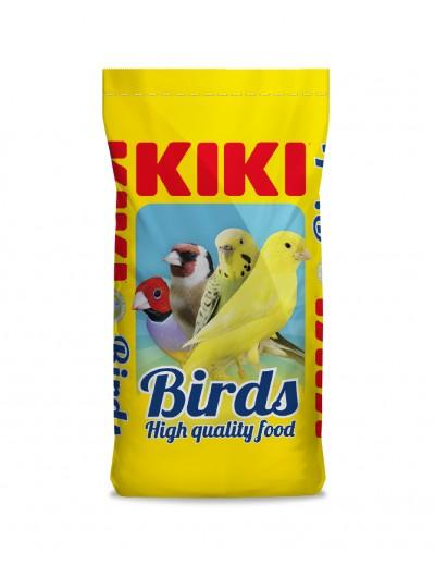 kiki mixtura con alpiste sin avena vitaminada 25 kg para canarios