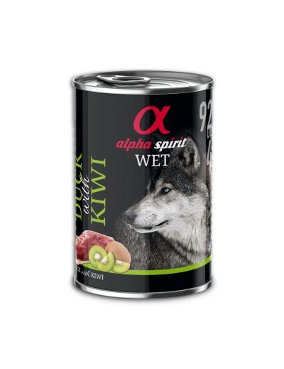 comida humeda LATA ALPHA SPIRIT Cerdo con Manzana para perros