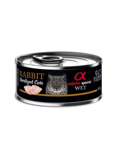 ALPHA SPIRIT Conejo para Gatos esterilizados