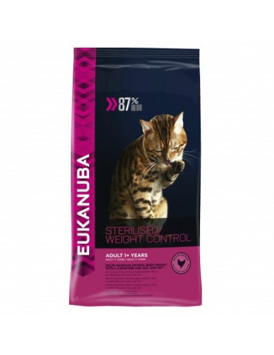 EUKANUBA CAT STERILISED/WEIGHT CONTROL
