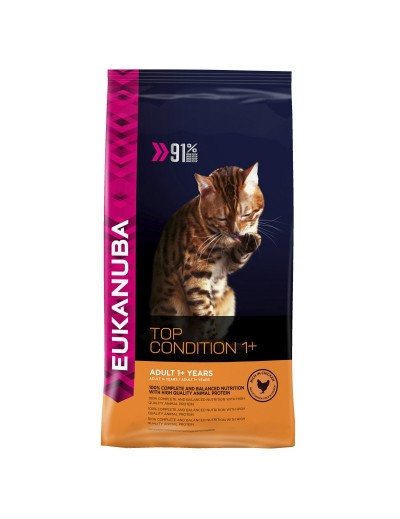 EUKANUBA CAT TOP CONDITION +1 2KG