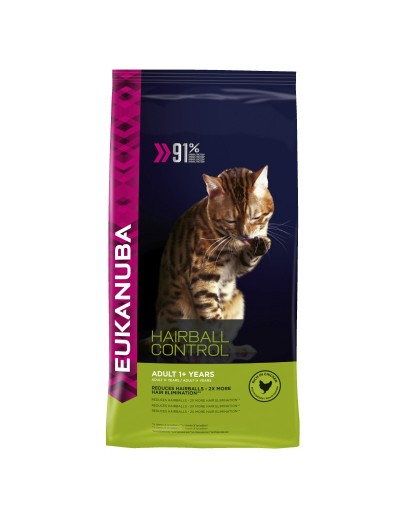 EUKANUBA CAT HAIRBALL CONTROL