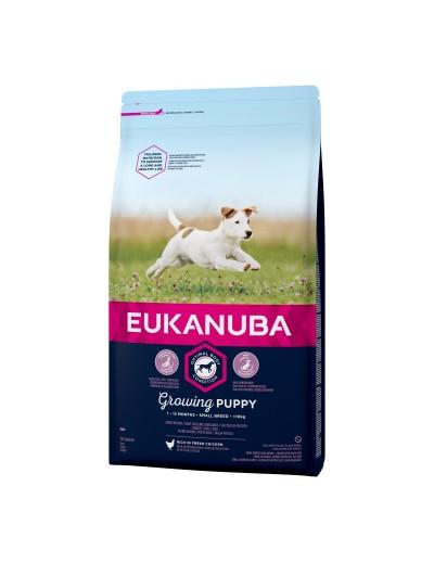 eukanuba growing puppy para cachorros razas pequeñas