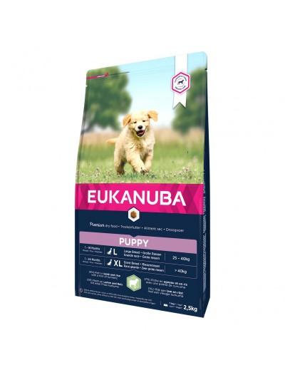 eukanuba puppy razas grandes cordero y arroz