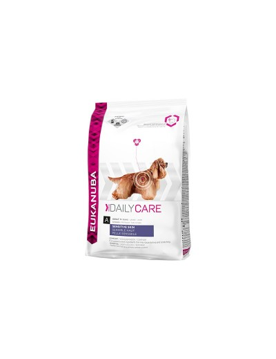 eukanuba daily care sensitive skin para perros
