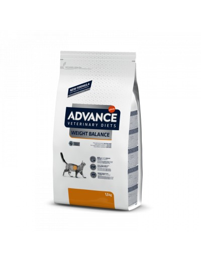 ADVANCE VETERINARY DIETS WEIGHT BALANCE para gatos