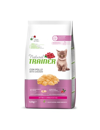 natural trainer Kitten con Pollo para gatitos