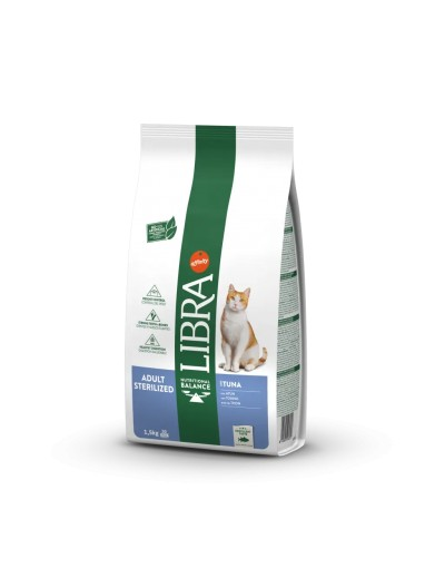 libra ADULT STERILIZED CON ATÚN para gatos